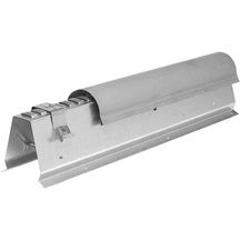 Faitage ventilé zinc