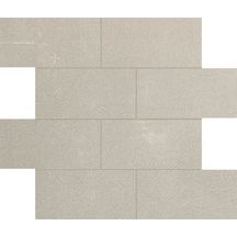 Grès cérame Floorgres Buildtech SA white naturel brique 7,5x15cm 30x30cm 749271