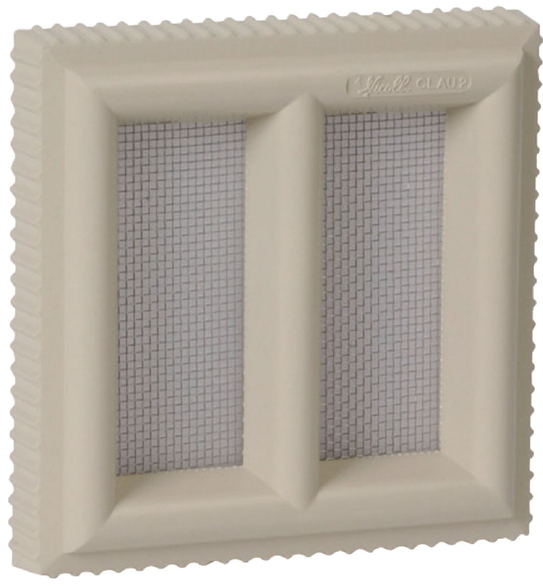 Grille A Ration Claustra Pvc Sable Nicoll 120×120 Mm Nicoll