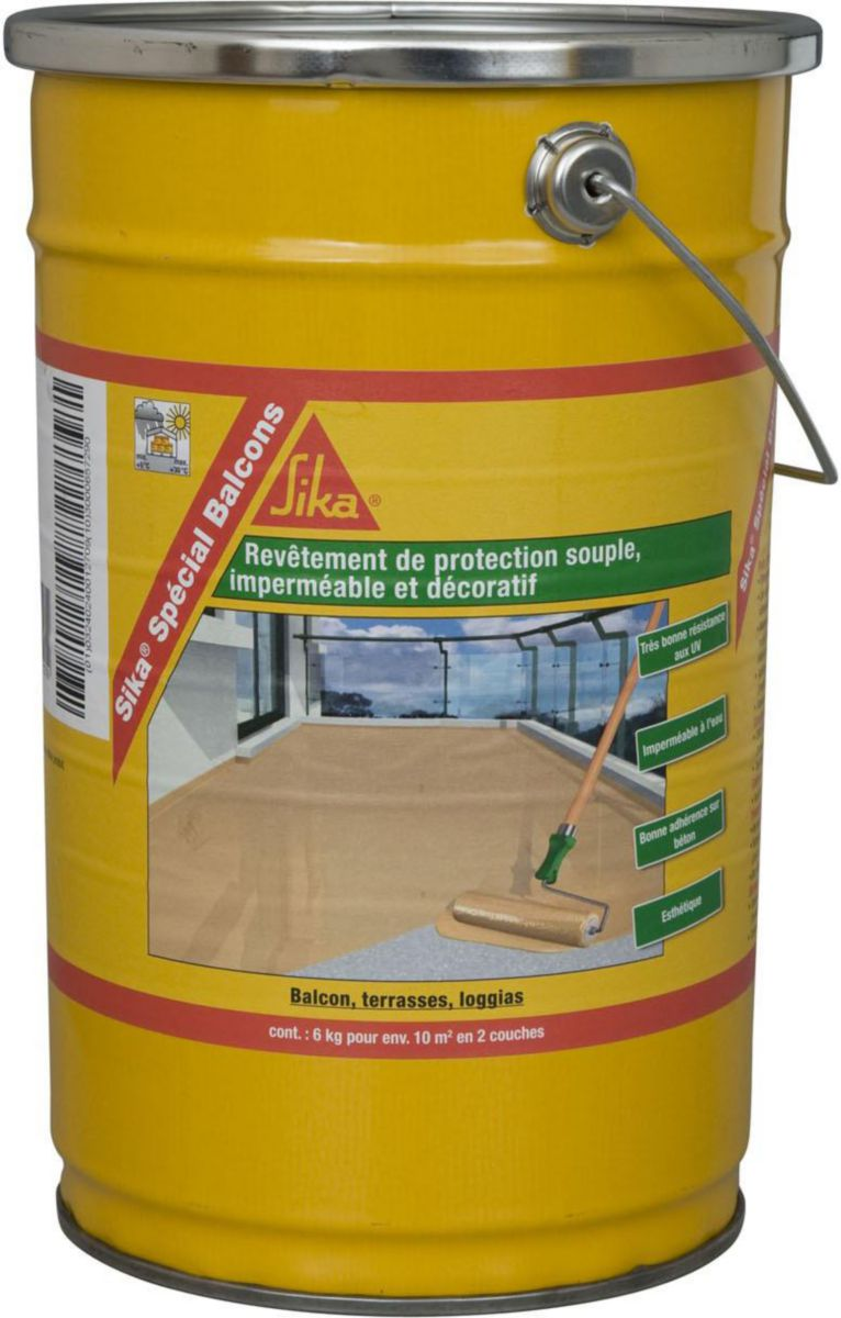 Protection pour balcon finest filet de scurit pour balcon for Sika peinture piscine
