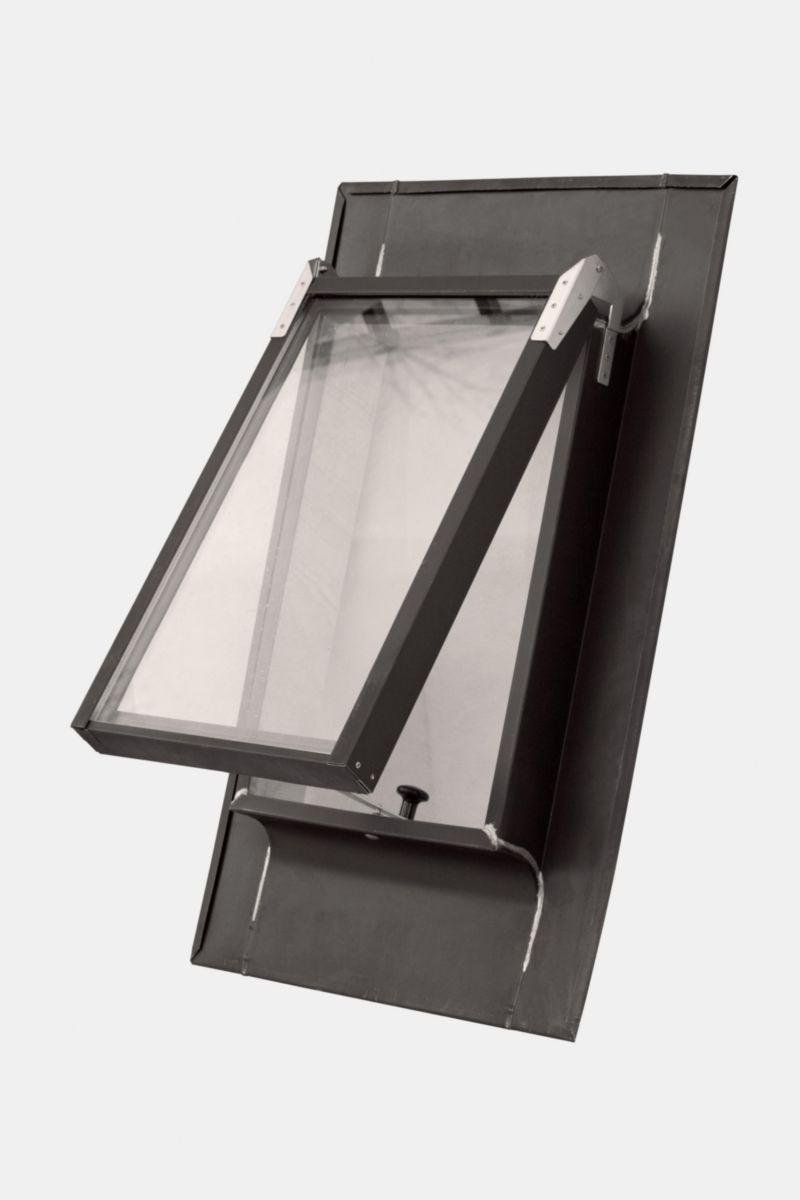 vmzinc ch ssis tabati re vm vitr 4 12 4 ouvrant 61x41cm. Black Bedroom Furniture Sets. Home Design Ideas