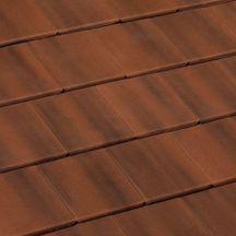 Tuile b ton innotech monier palissandre 420x330 mm monier toiture charpente for Distributeur tuiles monier