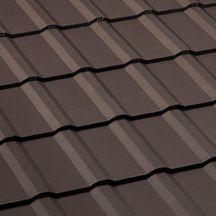 Tuile b ton perspective monier brun 420x330 mm monier toiture charpente distributeur de for Distributeur tuiles monier