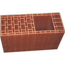 Brique isolante sismique - Calibric PTR1 CAL61 -  terre cuite - 20x50x31,4 cm - res 15x15