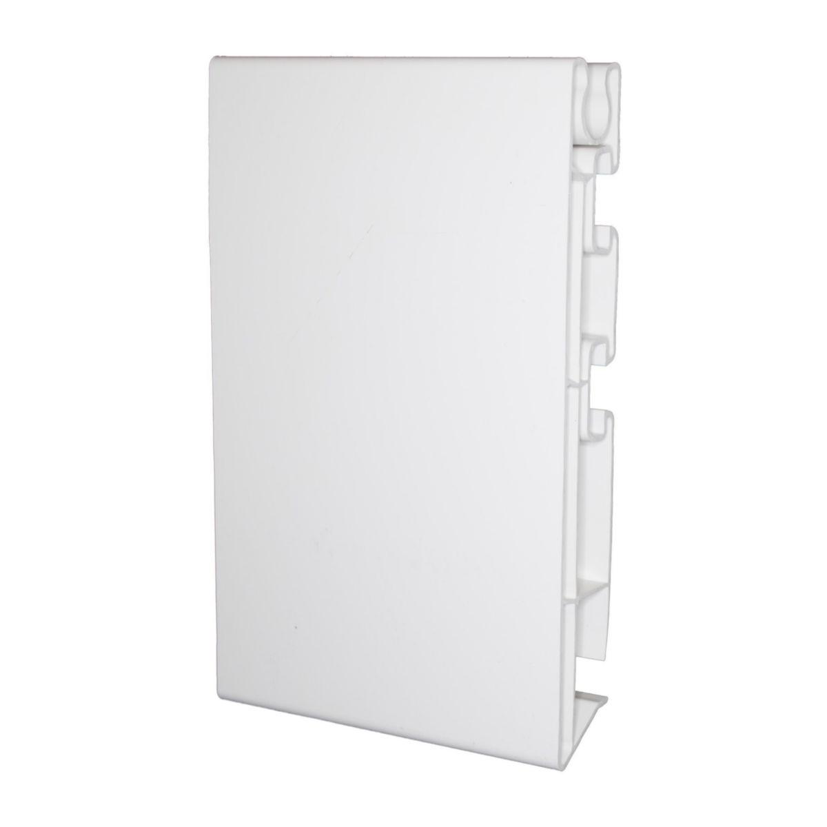 Mep Bandeau Pvc Blanc 25x160x4000mm Point P