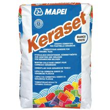 Mortier colle normal mapei keraset c1 blanc sac de 25kg for Colle a carrelage mapei