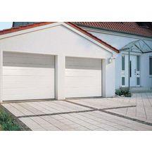 Porte garage sectionnelle pr mont e rainures m avec - Porte de garage sectionnelle tubauto ...