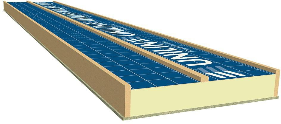 Unilin Insulation Panneau Trilatte Hpu 130 160 R 6 173 5x800x4800mm Point P
