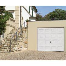 Porte garage sect europro pr m acier simple paroi k7 wood for Porte de garage sectionnelle tubauto europro