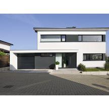porte de garage sectionnelle edw mrp pr mont 7016 avec serrure 2375x2000mm tubauto. Black Bedroom Furniture Sets. Home Design Ideas