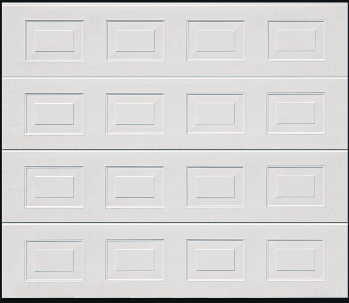 Porte De Garage Sectionnelle Europro Prémontée Motorisée Double - Porte de garage tubauto