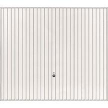 Porte De Garage Basculante Débordante Avec Rails Motif Acier - Porte de garage basculante tubauto