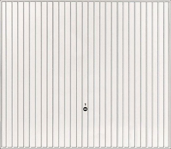 Tubauto distribution sas porte garage basculante d bordante europro 132 nervures blanc sans - Porte de garage basculante non debordante tubauto ...