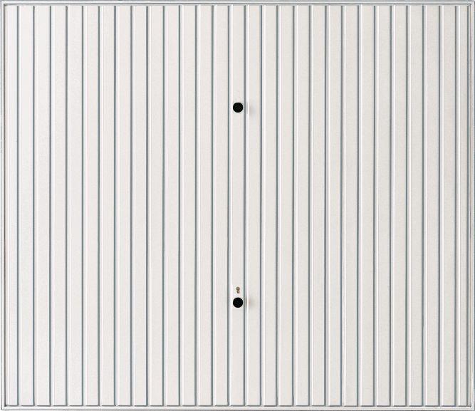 Porte De Garage Basculante Non Débordante Sans Rail Motif Acier - Porte de garage basculante tubauto