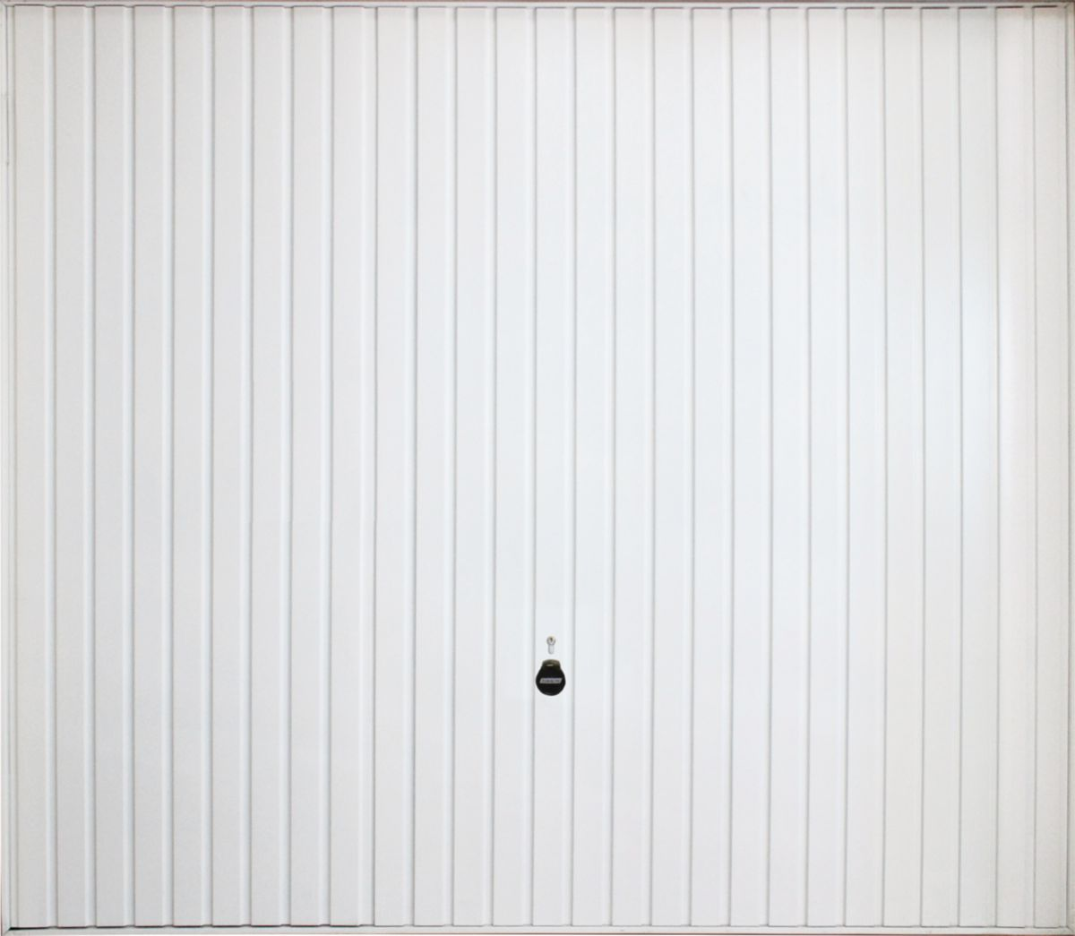 Tubauto distribution sas porte garage basculante d bordante 124 acier nervures vert blanc rail - Porte de garage basculante non debordante tubauto ...