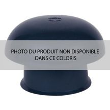 Chapeau de ventilation UCC14 PVC simple ardoise - Ø embase 140 mm