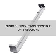 Jonction double universelle PVC cellulaire Belriv Tradi sable Nicoll - H. 411 mm ép. 7-15 mm