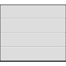 Porte sectionnelle harmonic double paroi acier l2375xh2000 for Porte de garage sectionnelle harmonic
