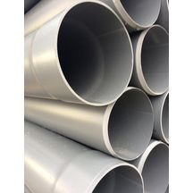 Tube OD Tube multi-usage - PVC gris - Ø 200 mm - L. 4 m - 25 pcs