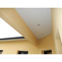 planche de sous face alv olaire pvc blanc 3000x200 mm p 10 mm profiles de l 39 ouest. Black Bedroom Furniture Sets. Home Design Ideas