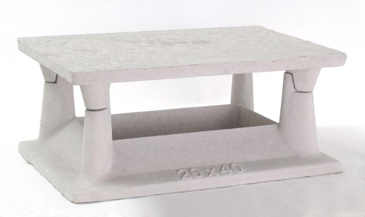 Conduit de cheminee beton tete for Chapeau de conduit de cheminee