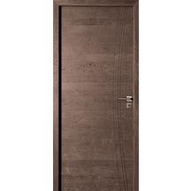 bloc porte ch ne rustique moka bross aube huisserie km1 h72 poussant droit 204x73 cm. Black Bedroom Furniture Sets. Home Design Ideas