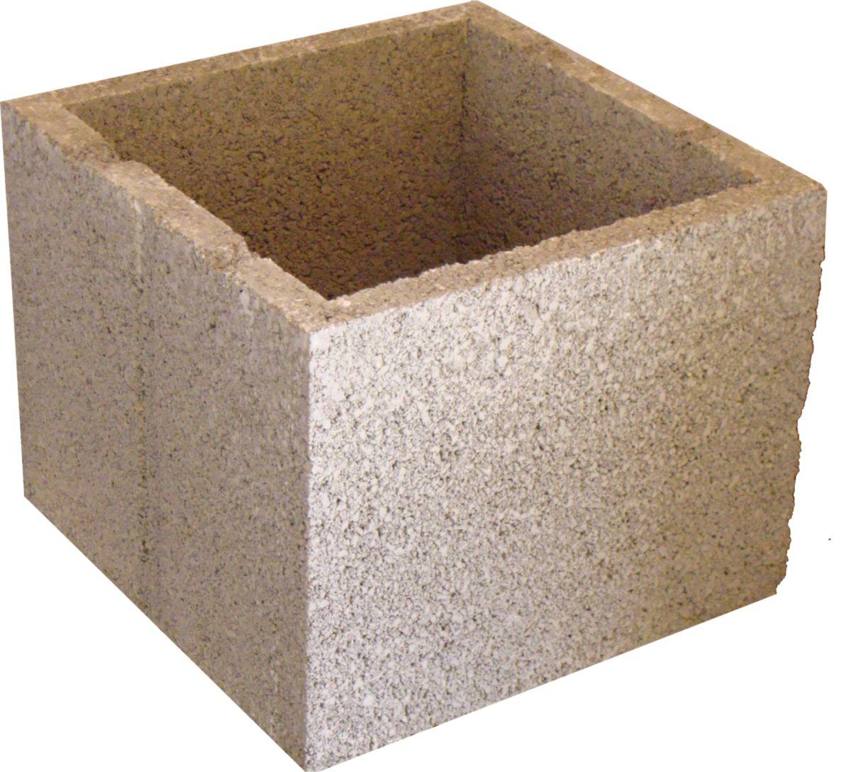 ultibat bloc pour pilier b ton 30x30x25 cm point p. Black Bedroom Furniture Sets. Home Design Ideas
