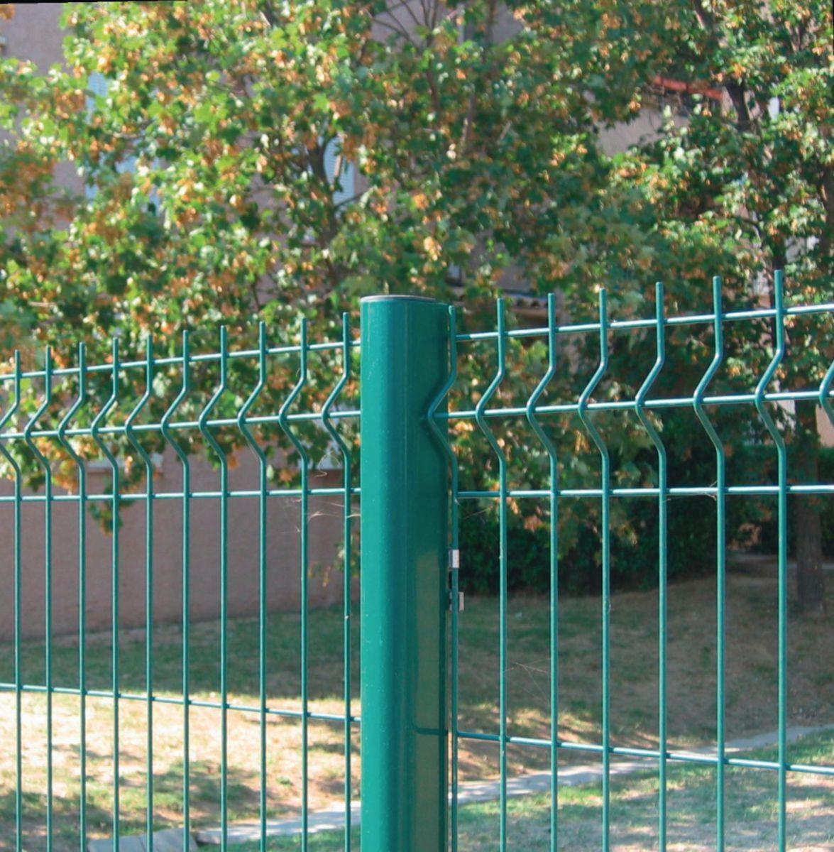clotex  panneau de clôture acier galvanisé plastifié