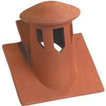 Tuile douille lanterne incorpor e terre cuite - Prix tuile plate terre cuite ...