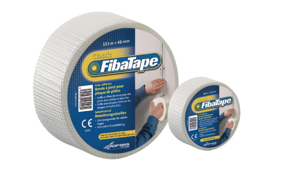 bande à joint adhésive fibatape® pour plaque de plâtre - fibre de
