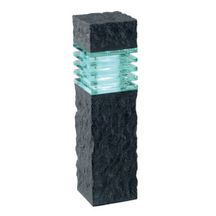 Borne ext�rieure polyr�sine led blanche Phobos anthracite - 2 W 12V 400x110 mm