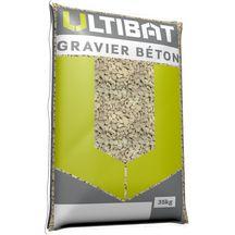 Ultibat Gravier Béton 6320 Sac De 35 Kg Pointp
