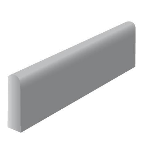 Fabemi Bordure Béton Type P2 Gris Ce 60 Nf U Longueur 1