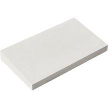 chaperon mur 1 pente blanc cass 50x28x4 cm weser. Black Bedroom Furniture Sets. Home Design Ideas