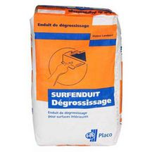 Enduit Surfenduit D�grossissage sac de 25kg