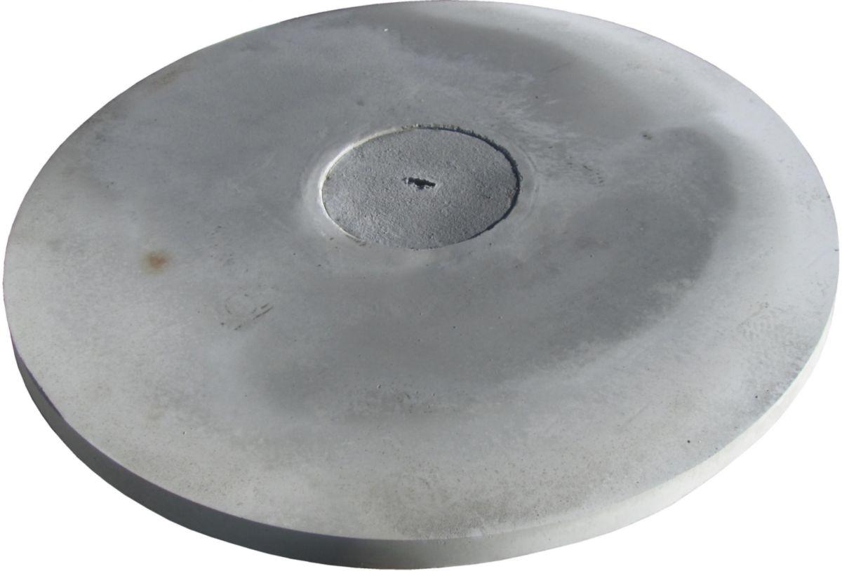 Couvercle Pour Buse De Puits Avec Tampon Rond Diamètre 35mm Diamètre 1000mm épaisseur 6cm Armature Renforcée