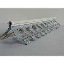 Profil Du0027angle Extérieur Perforé S15   PVC Gris   L. ...