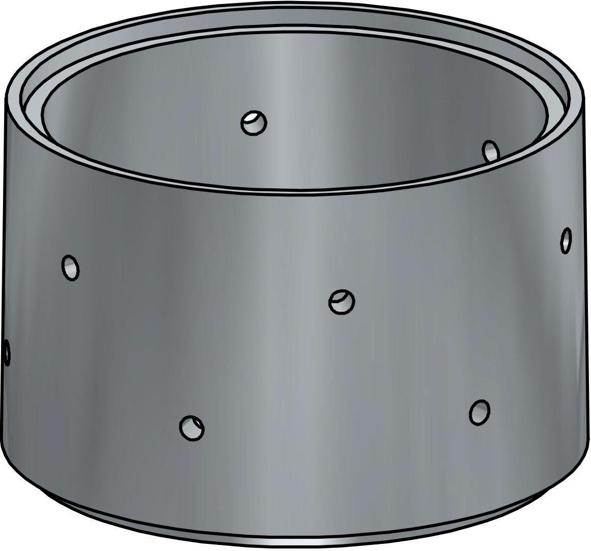Prix D Un Puit concernant anneau puits diamètre 900mm caby - clôtures + regards béton - caby