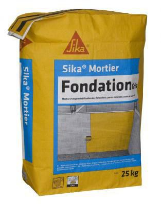 Sika Enduit D Impermeabilisation Sika Mortier Fondation Sp Sac De 25 Kg Point P