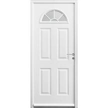 porte d 39 entr e acier mach5 dt120 pr peint cremone automatique 215x90cm droite gimm. Black Bedroom Furniture Sets. Home Design Ideas