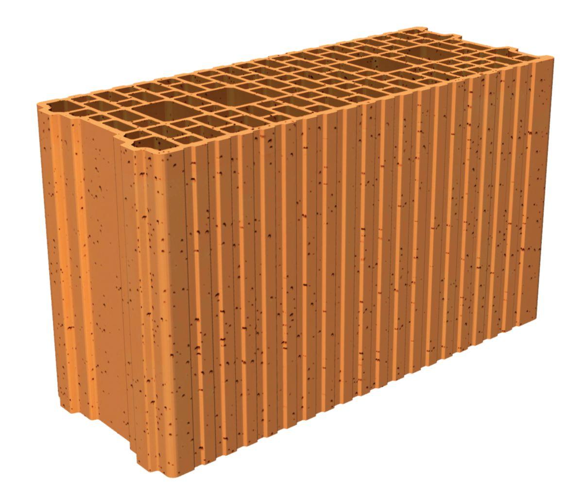porotherm brique isolante coller gf r20 500x200x299. Black Bedroom Furniture Sets. Home Design Ideas