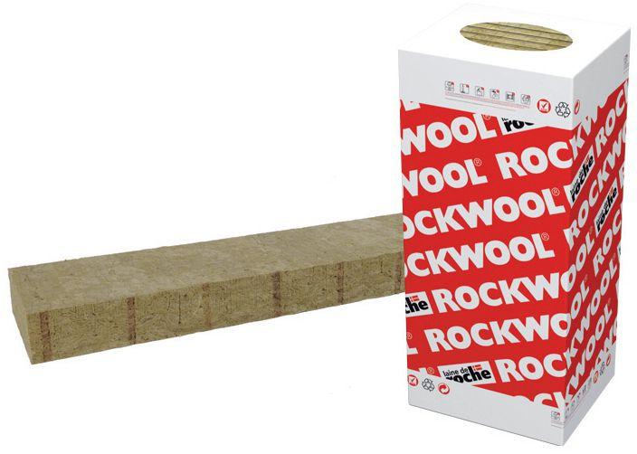 Panneau Laine De Roche à Bord Flexible Rockcomble   ép. 60 Mm   1,
