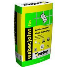 Weber joints produits de mise en oeuvre d coration int rieure distrib - Carrelage extra fin point p ...