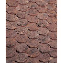 Tuile terre cuite plate ecaille press e 17x27 ste foy - Prix tuile plate terre cuite ...