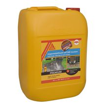 Hydro-ol�ofuge support min�ral poreux Sikagard Protection Sol SATINE blanc / incolore - bidon 20 l