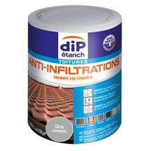 Dip anti infiltration gris pot de 0,75 litre