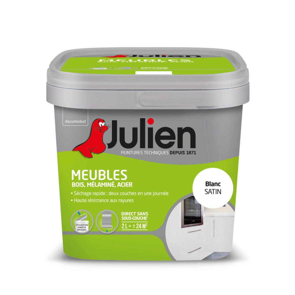 Peinture Phase Aqueuse Pour Meubles   Blanc Satin   Pot De 2 L   ICI PAINT    Outillage   Quincaillerie   Distributeur De Matériaux De Construction    Point.P