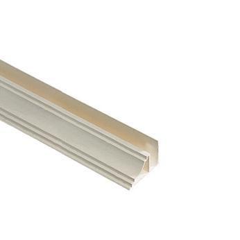 Moulure Plafond Simple Pour Lambris Pvc Blanc Creme L 2700 Mm