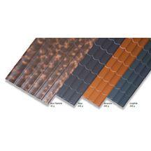panneau tuile batituile acier ondul pr laqu terracotta 3x1 18 m p 0 50 mm batiroc. Black Bedroom Furniture Sets. Home Design Ideas