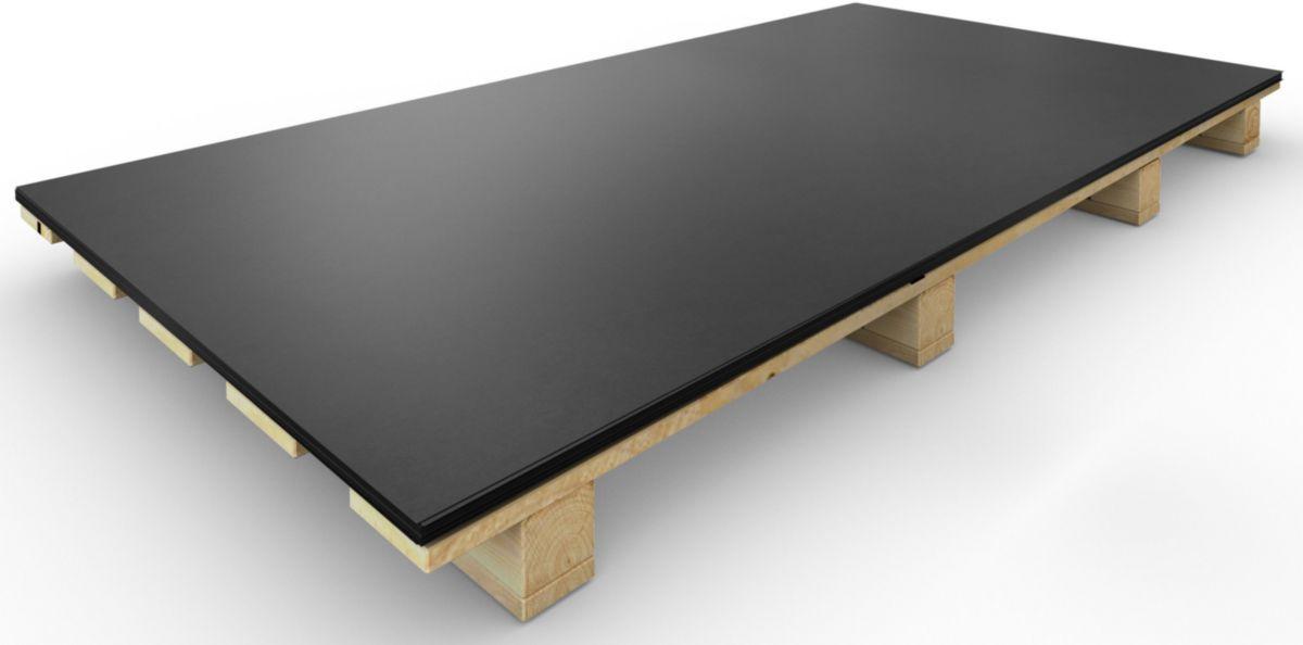 vmzinc feuille anthra zinc 2x1 m p 0 65 mm point p. Black Bedroom Furniture Sets. Home Design Ideas